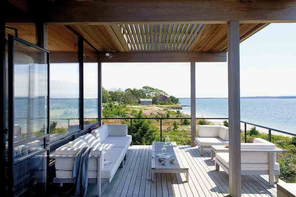 Haus am Meer mit Terrasse
