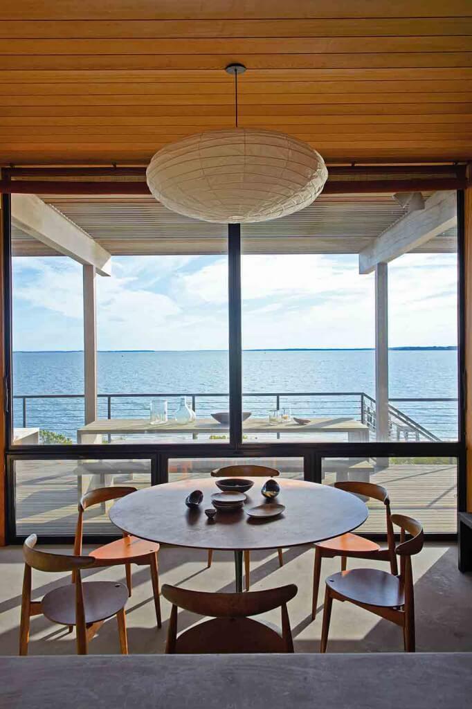 Haus am Meer Ausblick Terrasse