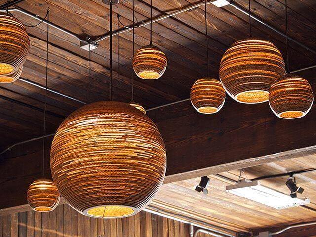 Lampe Landhausstil Hängeleuchte Ball