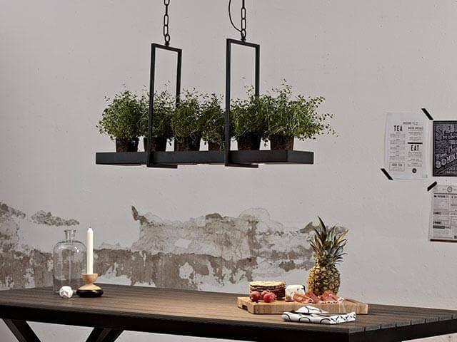 Lampe Landhausstil LED-Hängelampe Tray