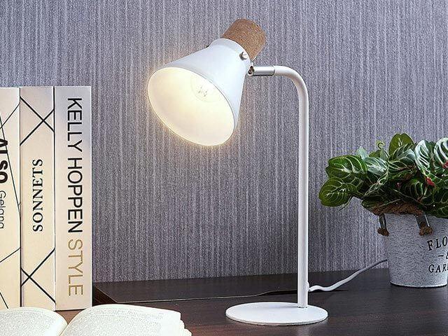 Lampe Landhausstil Tischlampe Silva