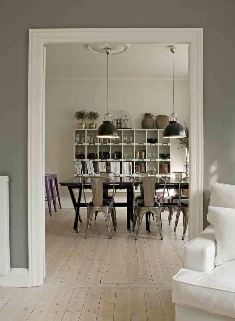 landhaus-esszimmer-nordic-living - landhaus look - Landhaus Esszimmer