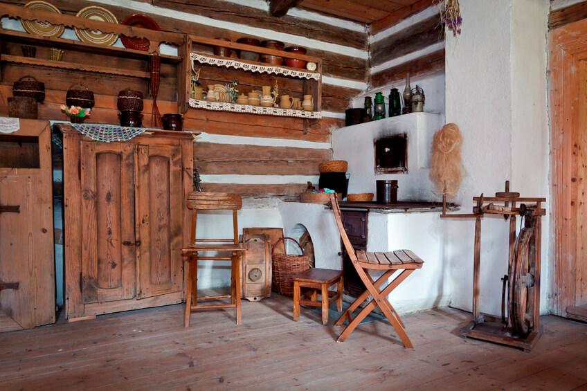 Wohnzimmer im kolonialstil