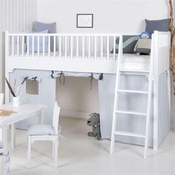 oliver furniture hochbett halbhoch landhaus look. Black Bedroom Furniture Sets. Home Design Ideas