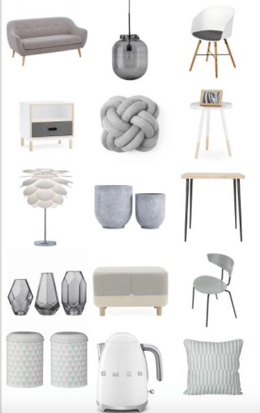m bel lampen und dekoration im skandinavischen stil in. Black Bedroom Furniture Sets. Home Design Ideas