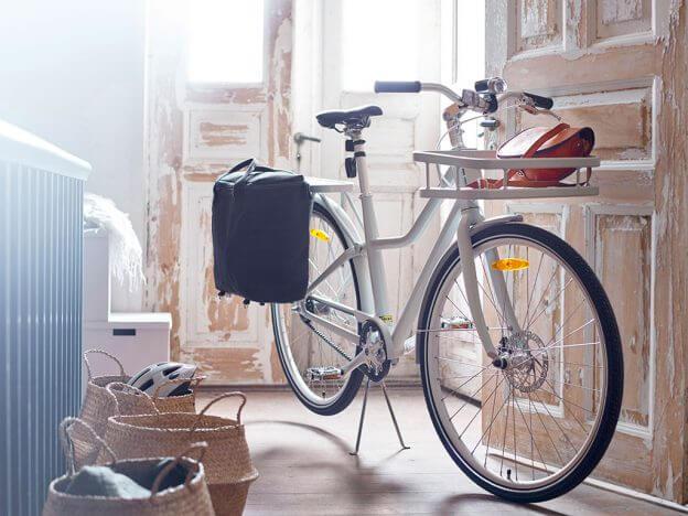 Das SLADDA Fahrrad ist so schön, dass man es gerne auch in der Wohnung parkt