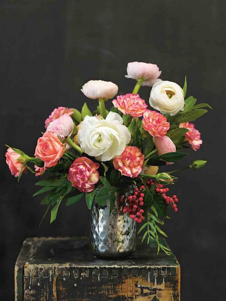 Vintage Flowers: Üppige Blumendekorationen verzaubern jedes Ambiente
